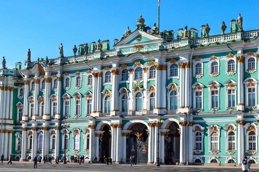 Museo statale Ermitage, San Pietroburgo