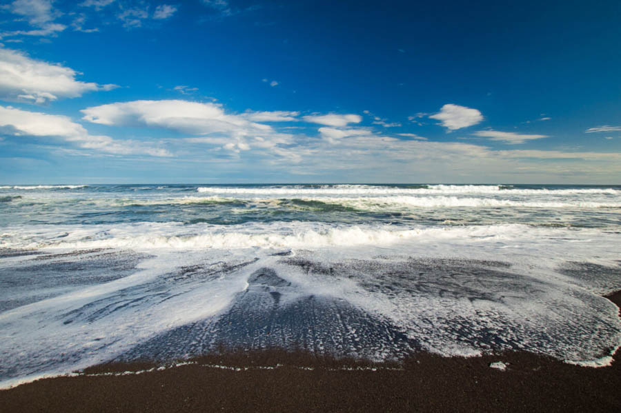 La spiaggio di Halaktyr, Russia