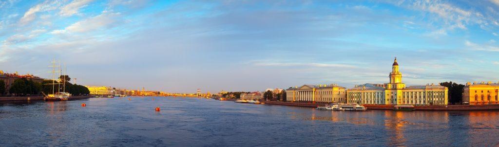 San Pietroburgo, veduta panoramica
