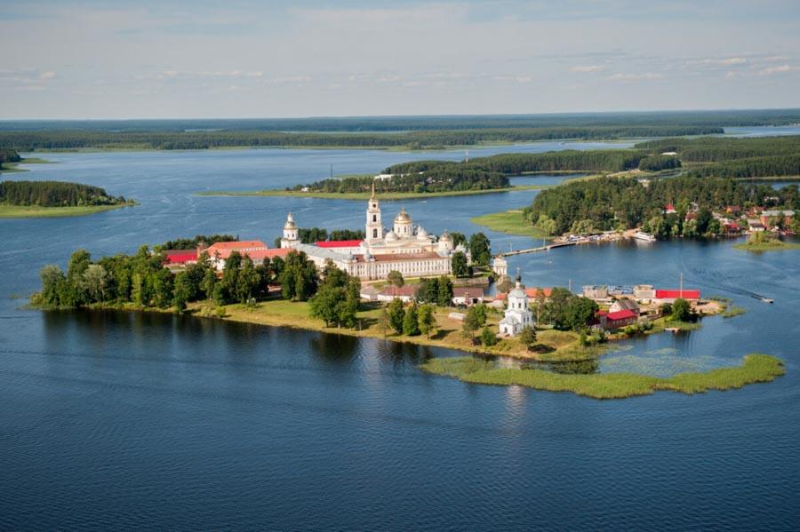 Chiesa sull'isola, Russia