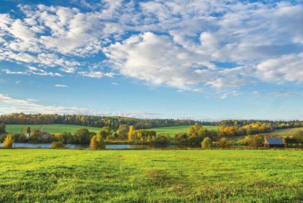 La vista sul valle, Russia