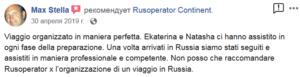 Recensione del tour in Russia by Rusoperator