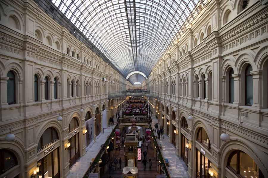 I magazzini GUM di Mosca