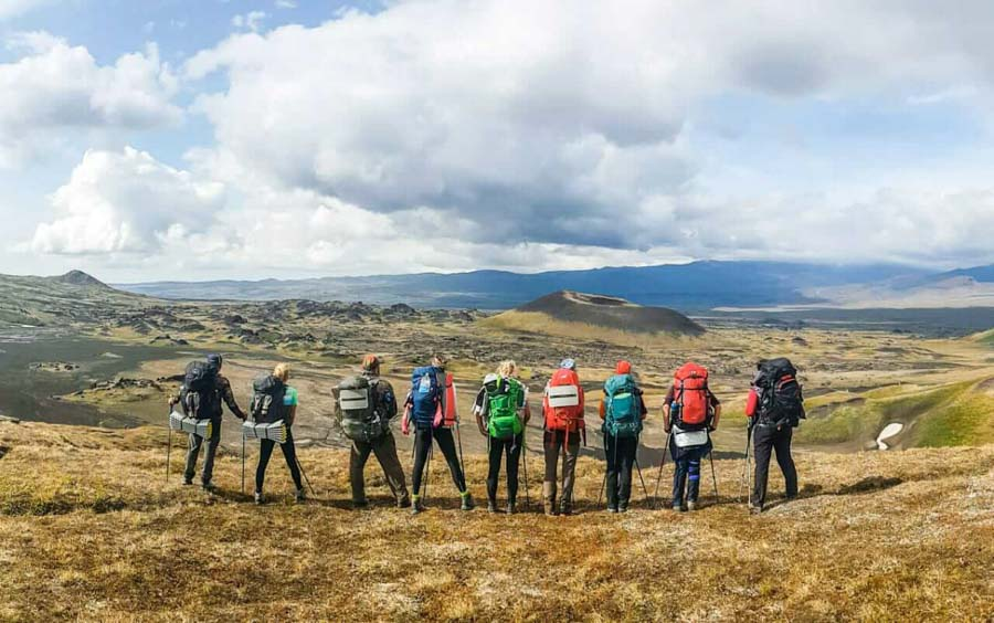 Tour in Kamchatka - Trekking
