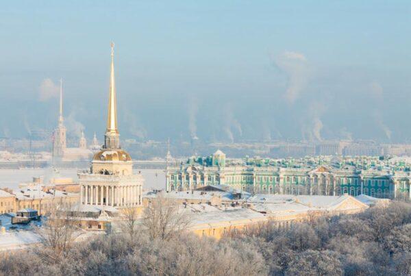 Il centro storico di San Pietroburgo
