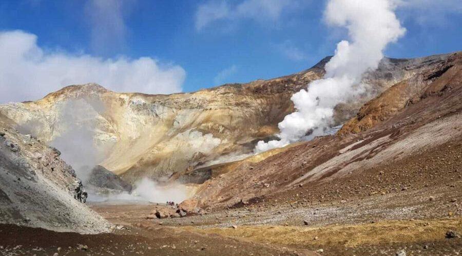 Il vulcano Mutnovskiy