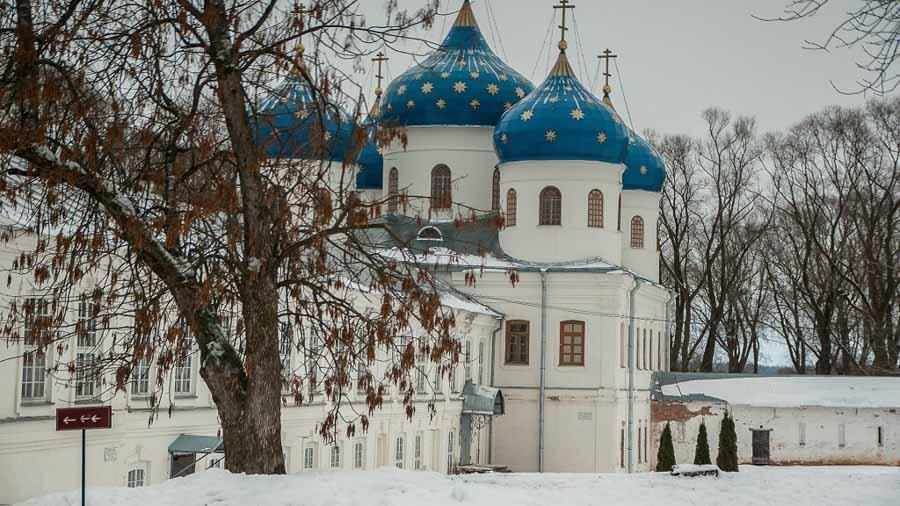 La chiesa di San Giorgio nel monastero di Yuriev