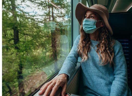 Viaggiare in Russia con mascherina